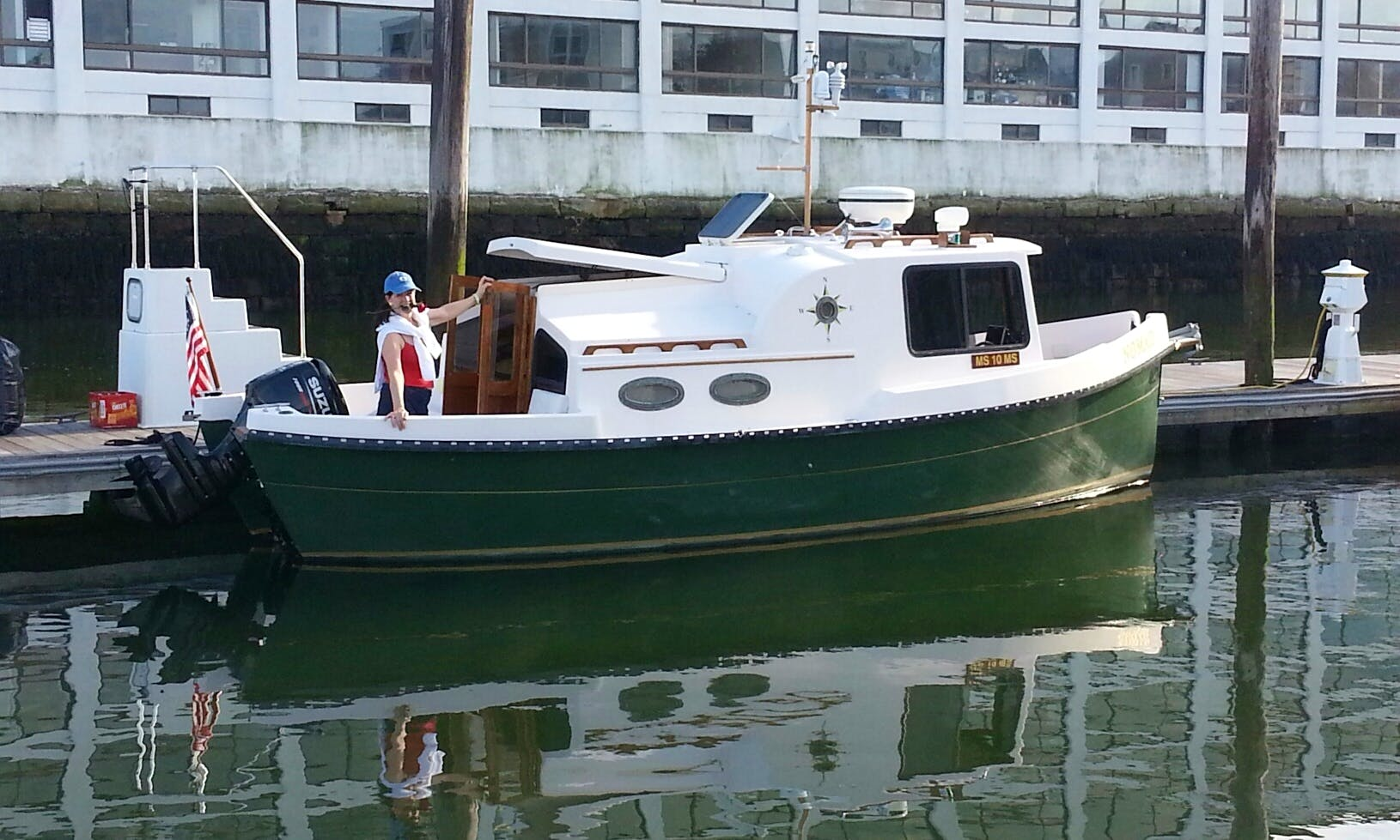 Unique Mini-Tug Boat - up to 4 guests with captain
