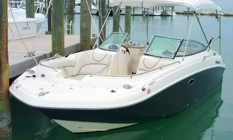 Hurricane Deck Boat in Key Biscayne, Florida