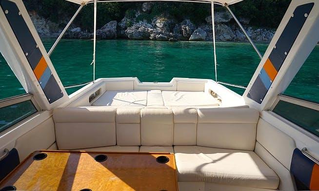 Charter Seabird Cuddy Cabin in Kontokali, Greece