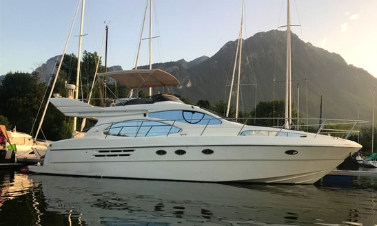 Charter 49' Azimut 46 Flybridge Evoluzione Motor Yacht In Geneva, Switzerland