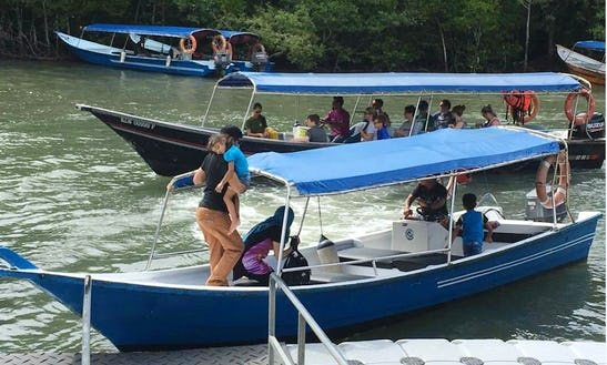 Charter A 10-person Canal Boat In Langkawi, Malaysia