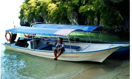 Cruise The Canals In Style On This Boat For Charter In Langkawi, Malaysia