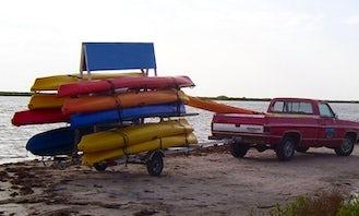 Single and Double Kayak Rentals in Newport Oregon