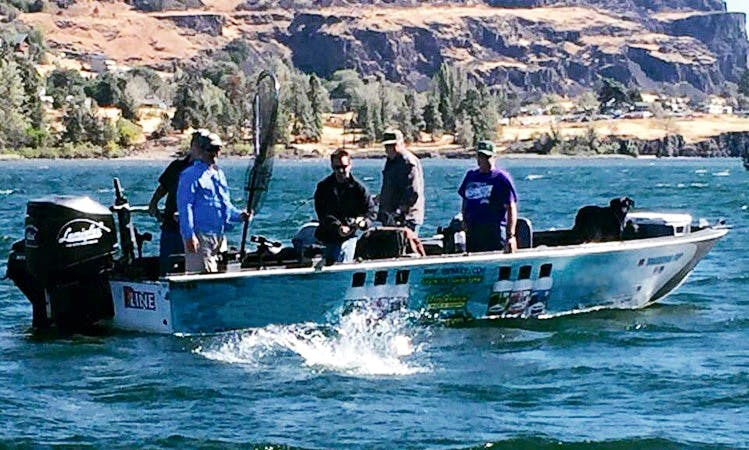 Guided Fishing Trips On the Columbian River and Banks Lake