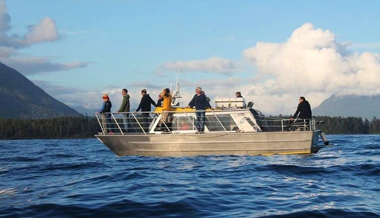 Water Taxi Tours In Tofino