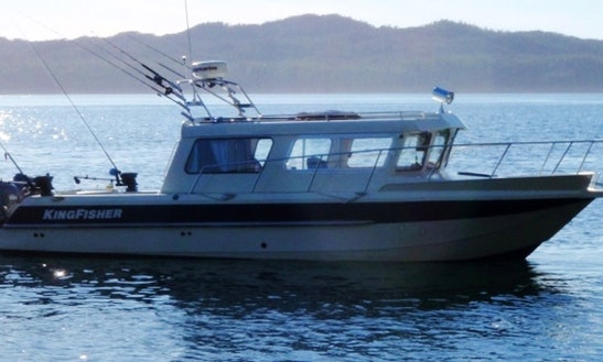 Salmon And Halibut Fishing Charters From Shearwater