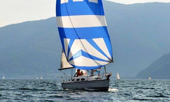 Charter 30' X-yachts 302 Cruising Monohull At Lake Maggiore