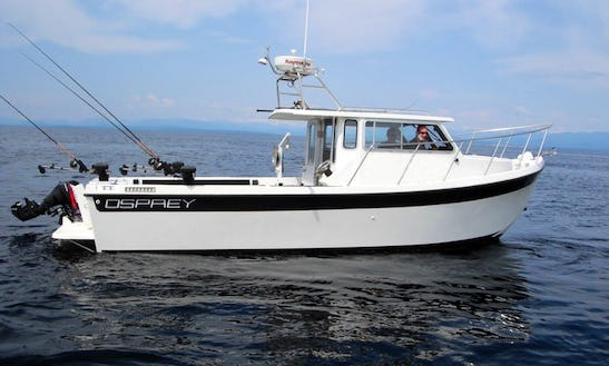 26' Fishing Charter In Comox-strathcona C