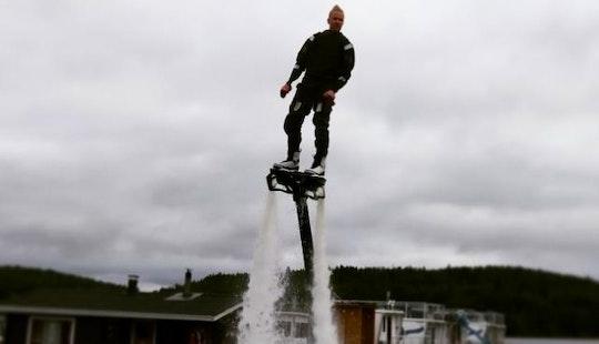Enjoy Flyboarding In Jyväskylä, Finland
