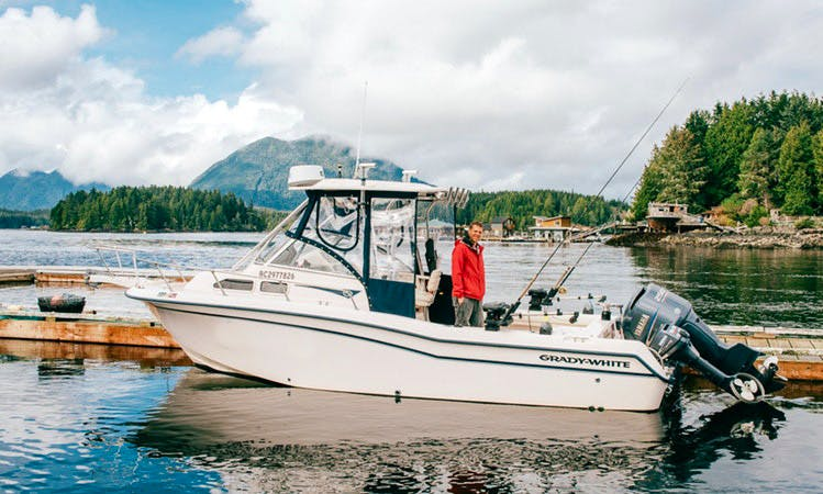Join Us Fishing in Tofino, Canada on 25' Grady White Voyage Yacht