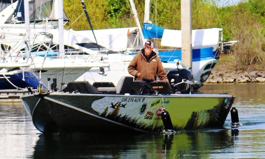 24' Sport Fisherman Rental In Portland, Oregon
