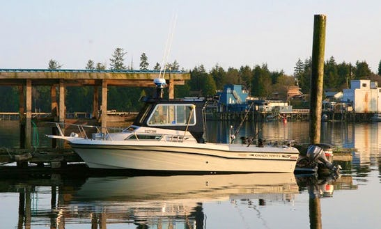 23' Gulfstream Fishing Charter In Ucluelet