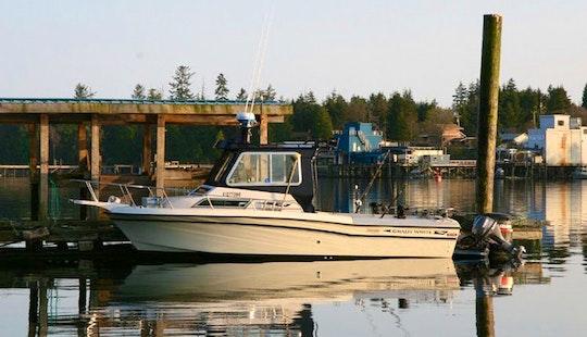 23' Gulfstream Fishing Charter In Ucluelet
