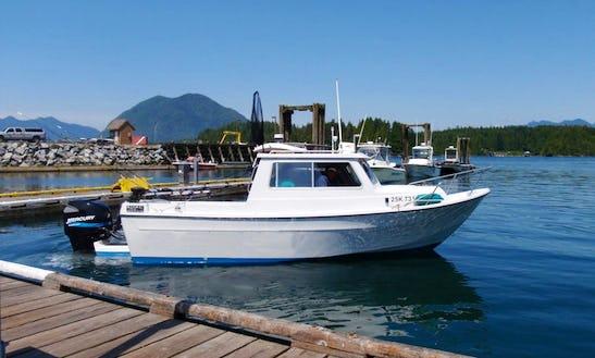 'sarita' Offshore Fishing Charter In Tofino