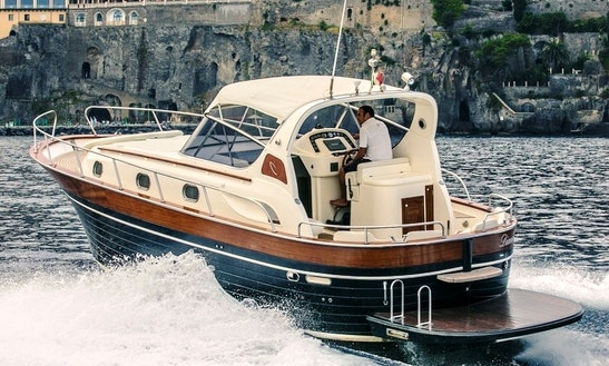 Charter A 38' Aprea Mare Motor Yacht In Sorrento, Italy