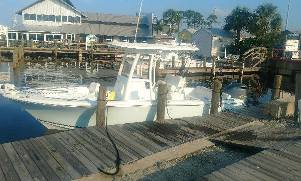 Enjoy Fishing On 24' Sea Hunt Center Console Boat In Panama City, Florida