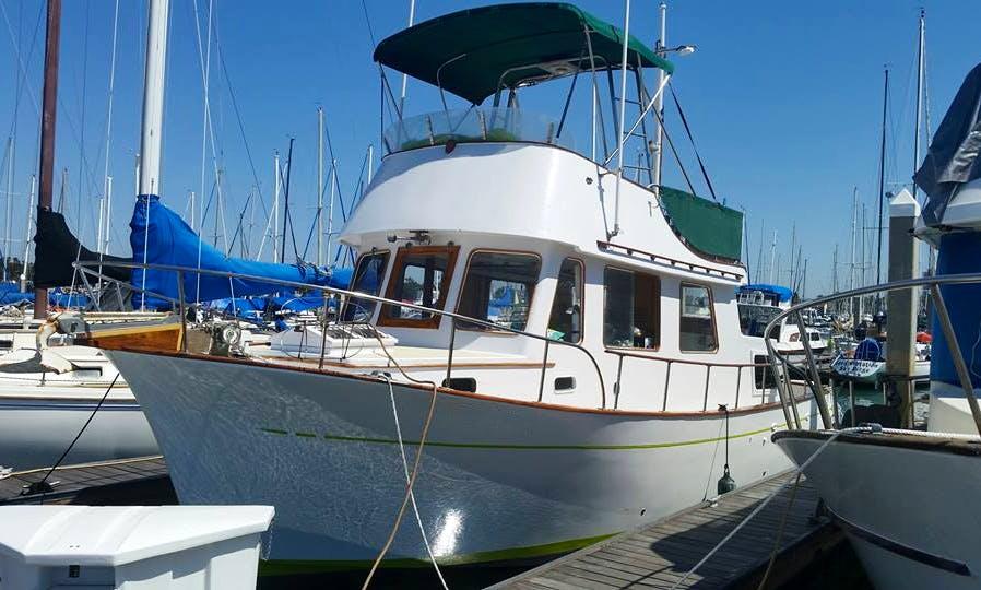 Fishing Charter On 34' CHB Trawler In San Diego, California