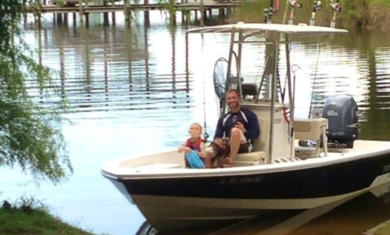 Enjoy Inshore Guided Fishing On Center Console Boat In Niceville, Florida