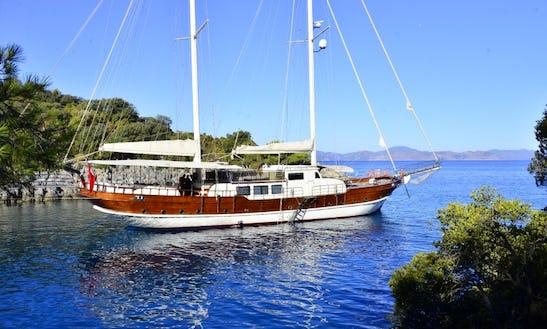 Charter 108' Berrak Su Gulet In Muğla, Turkey