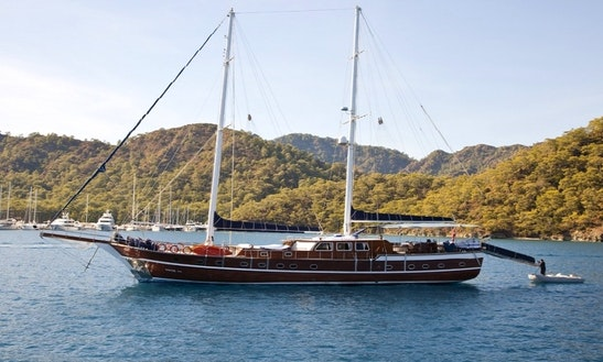 Charter 102' Ugur Gulet In MuÄŸla, Turkey