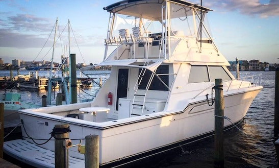 Fishing Charter On 43' Tiara Convertible Yacht In Destin, Florida