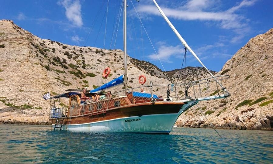 Charter a Gulet in Platis Gialos, Greece