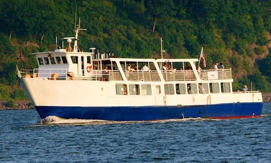 100' Passenger Boat Charter In Kingston, New York