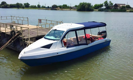 Charter A Speedboat In Tulcea, Romania For An Exciting Experience