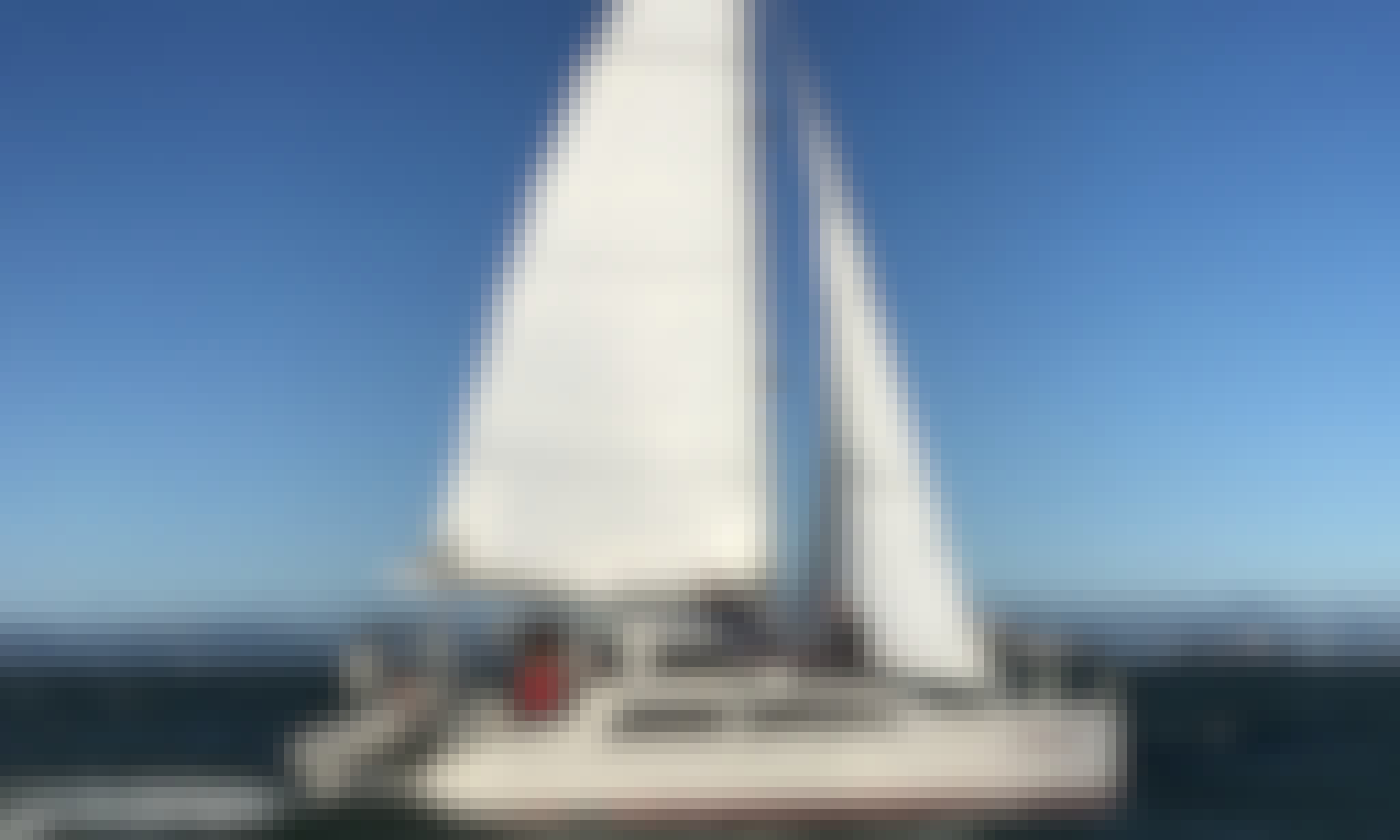 Excellent social distancing yacht - Sailing on a 33' Seawind Cruising Catamaran In Richmond, California
