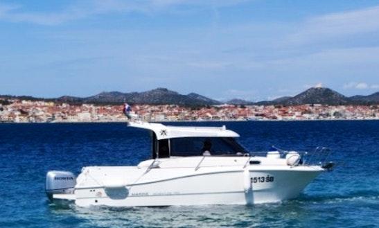 26' Cuddy Cabin Boat In Šibenik, Croatia