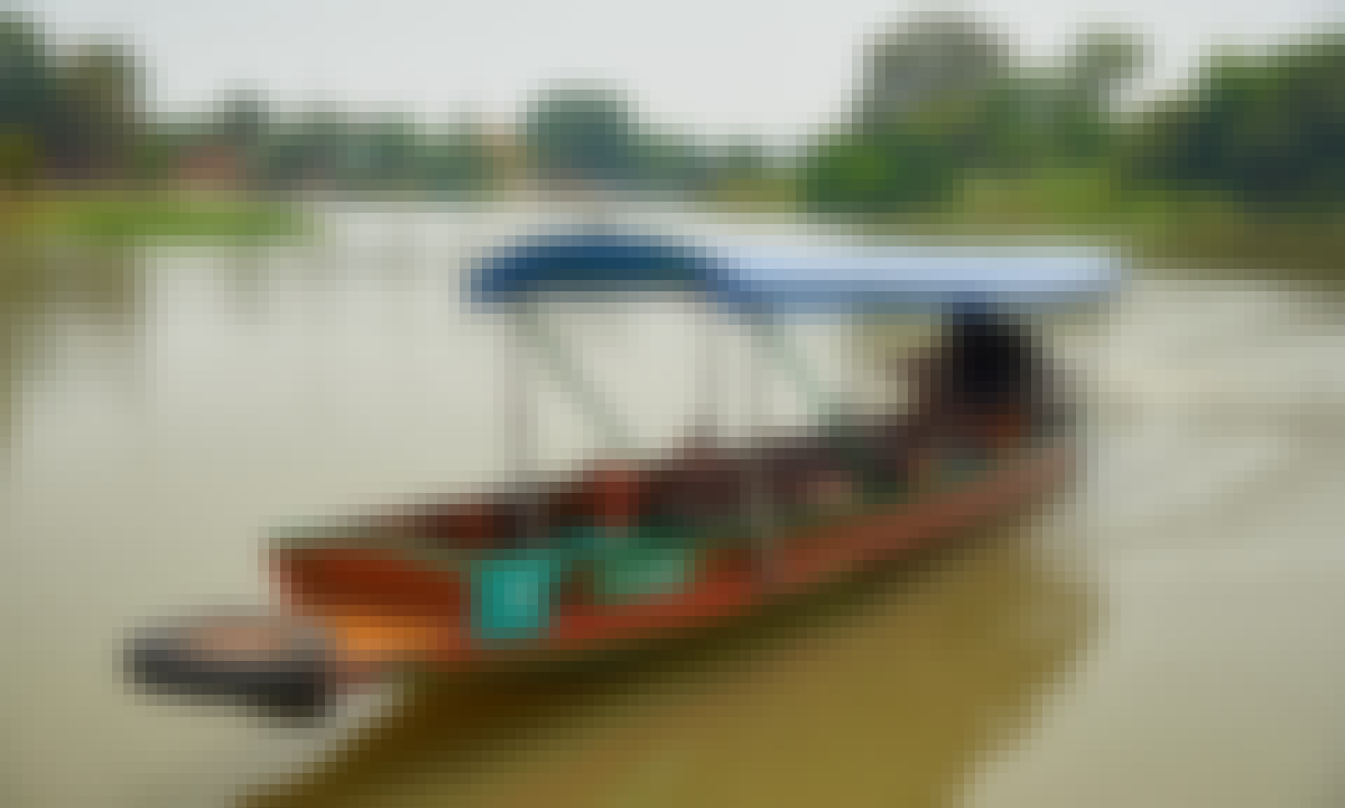 Traditional Water Taxi Tour in Ayutthaya, Thailand