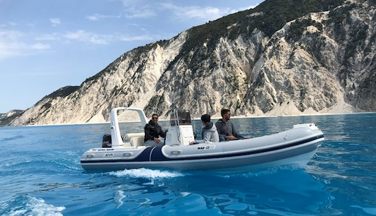 Experience The Ionian Sea With This Rib Rental In Lefkada, Greece