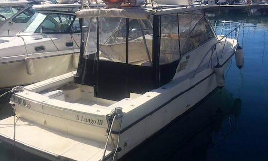 A Cuddy Cabin Motor Yacht In La Spezia, Italy