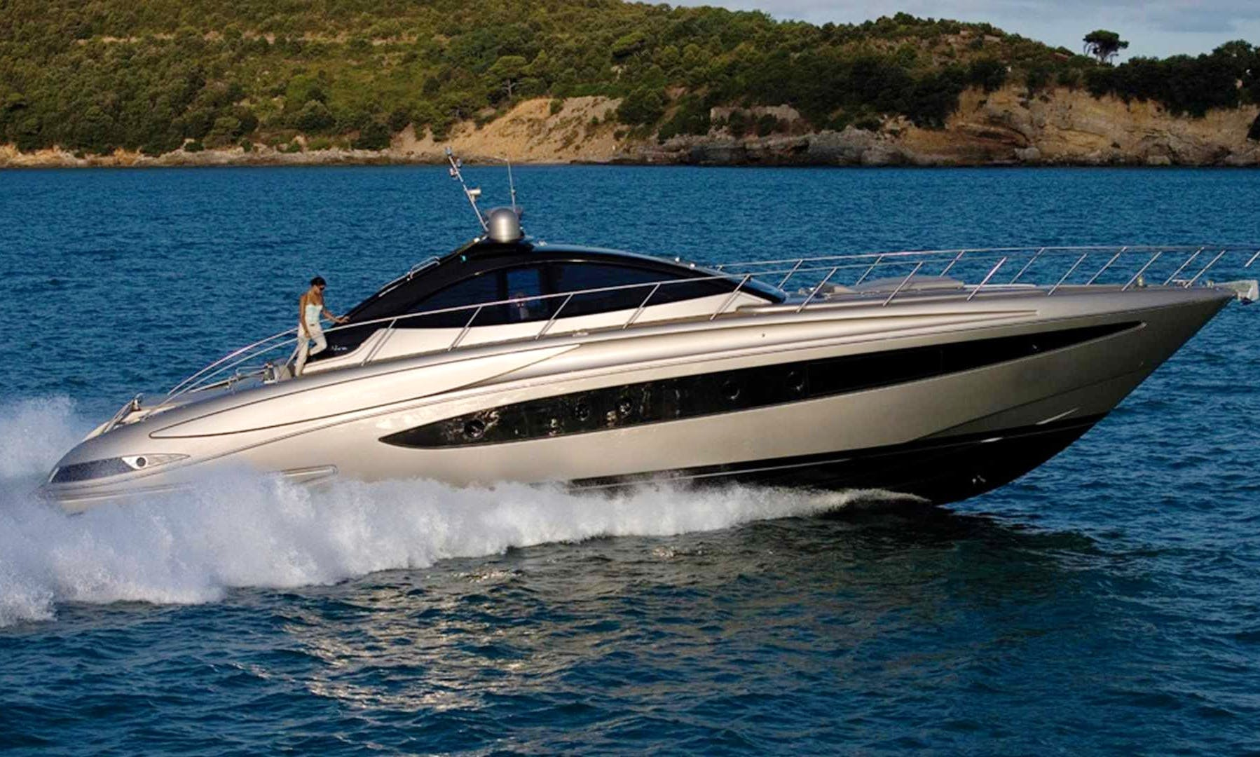 Luxury Riva 63 feet rental in Capri
