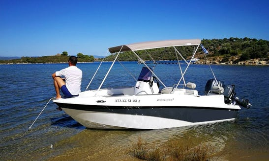Experience Chalkidiki, Greece By Water - Center Console Rental For 5 Peopel