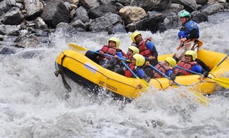 White Water River Rafting in Matten bei Interlaken