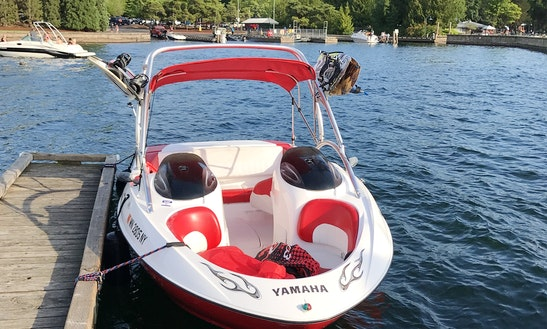 21' Yamaha Ar210 Wake Boat Rental In Des Moines, Washington
