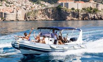 Zodiac Medline III Rigid Inflatable Boat Charter in Dubrovnik, Croatia