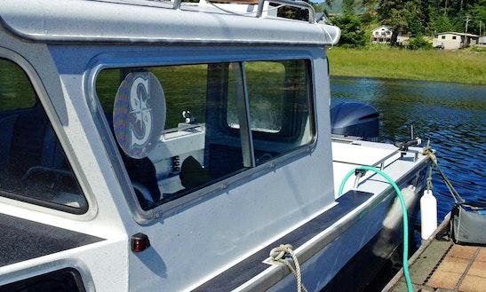 24' Deck Boat Charter In Klawock, Alaska