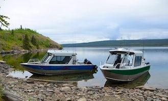 Experience Lodge Fishing In Yukon