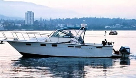 26' Cuddy Cabin Fishing Charter In Vancouver, Canada