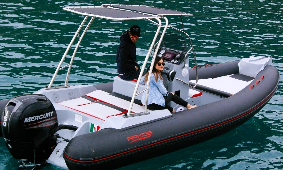 Rent this RIB in Bordighera, Italy with 6 of your best