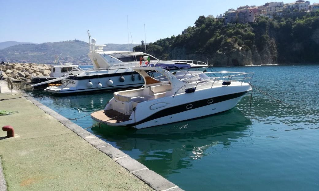Saver 330 Sport Motor Yacht Charter for 8 People In Milazzo, Italy with Captain