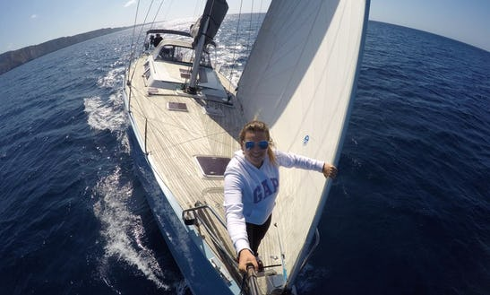 Cruising Monohull Hanse 54 Captain Charter In Barcelona