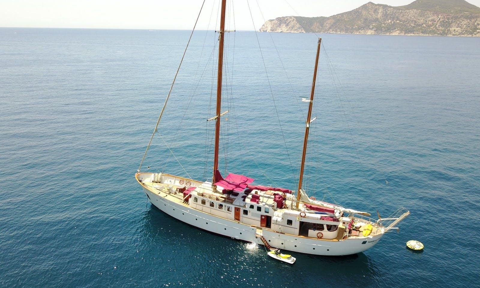 "105 feet Sailing Ketch ""Southern Cross"" in Eivissa"