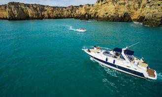Cranchi Endurance 41' Motor Yacht rental and cruise in Lagos