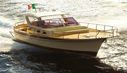 Charter 32' Fratelli Aprea Motor Yacht In Capri, Italy