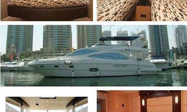Power Mega Yacht sleep aboard or Charter Boat in Dubai