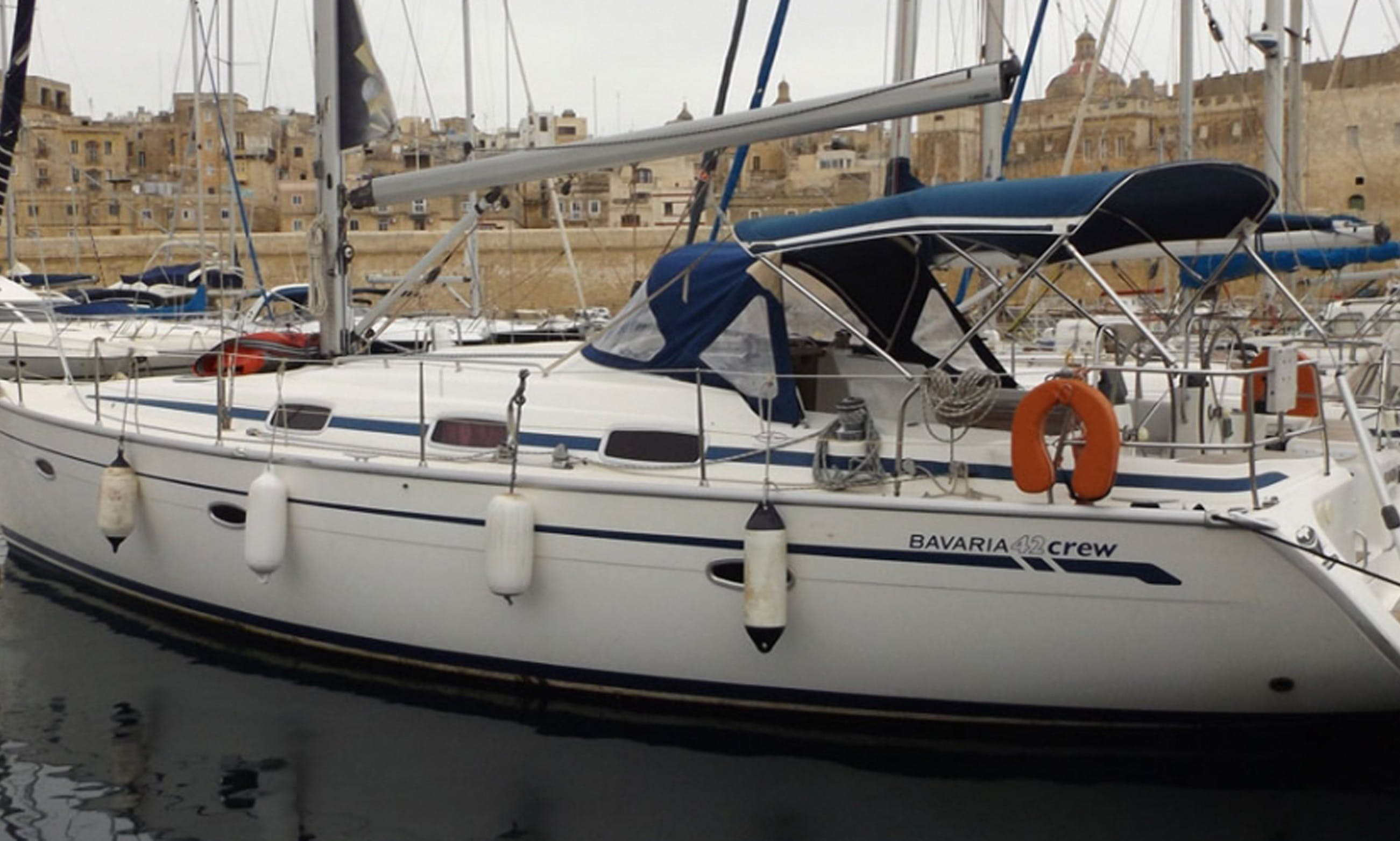 Captained Charter Aboard 42 ft Bavaria Cruiser for Up to 9 people in Pieta, Malta