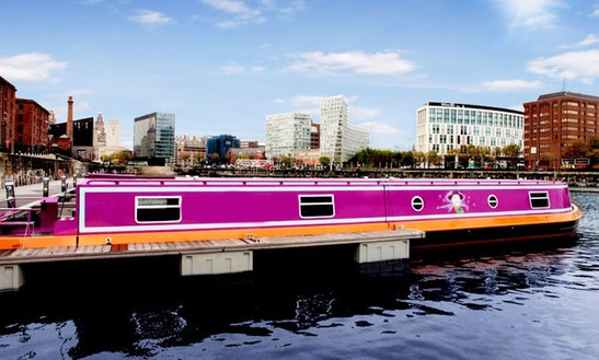 'the Joker Boat' Luxury Charter In Liverpool